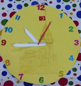 clock craft ideas for kids
