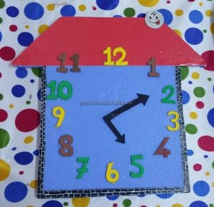 clock craft ideas for kindergarten