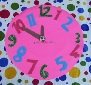 clock craft ideas for preschool