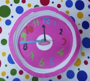 clock crafts for preschool