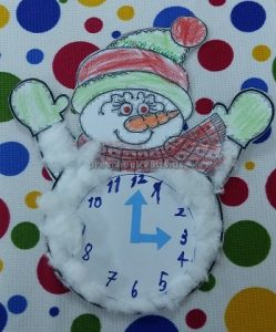 clock crafts for preschoolers