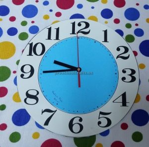 clock theme craft ideas for preschool