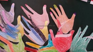colored hand crafts for preschool