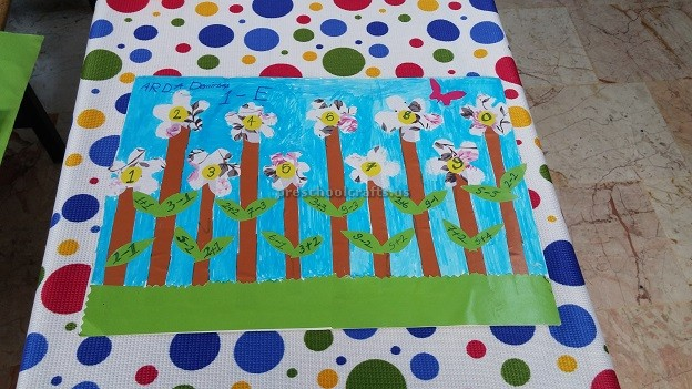 number craft ideas for preschoolers craft ideas related to numbers for kindergarten 6971