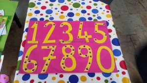 craft ideas related to numbers theme for preschool