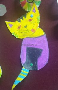 craft ideas to cat for kids