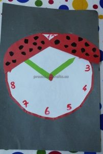 craft related to clock for preschool