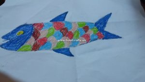 craft related to fish for kindergarten