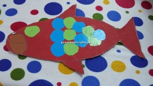 craft related to fish for toddler