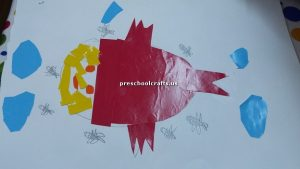 crafts related to fish for kindergarten