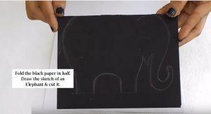 elephant craft making
