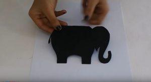 elephant craft making for kids