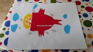 fish craft for kindergarten