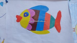 fish theme craft for firstgrade