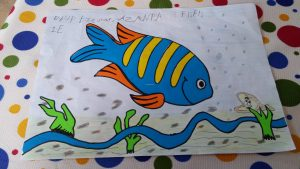 fish theme craft idea for preschool