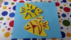 fish theme crafts for preschool