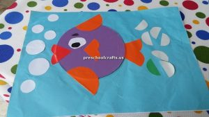 fish theme crafts for preschoolers