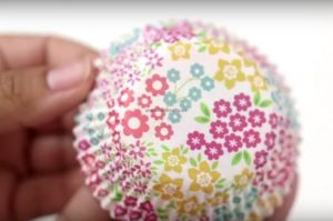 flowers crafts to cup cake