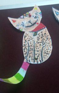 funny cat craft ideas for kindergarten