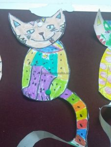 funny cat crafts ideas for kids