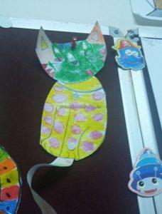funny cat crafts ideas for kindergarten