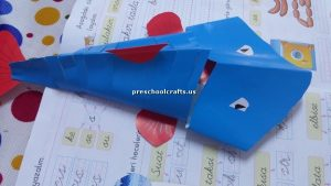 kids craft idea for fish