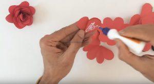 making rose craft