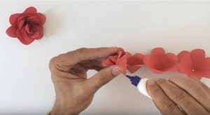 making rose craft ideas for pre-school
