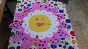 number craft for kids