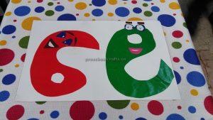number craft for preschoolers