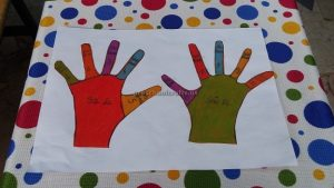 number craft idea for kids