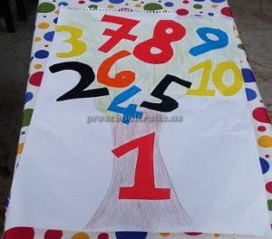 number craft ideas for toddler