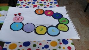number theme craft idea for kids