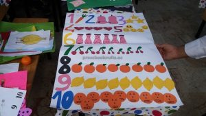 number theme crafts for kids