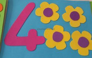 numbers craft idea for preschool