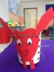 paper cup animal craft ideas for kindergarten