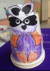 paper cup panda craft ideas