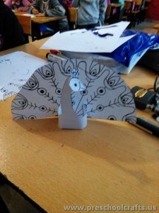 peacock project ideas for kids