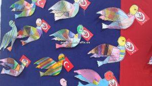 preschool bird crafts idea