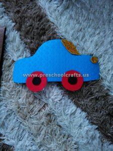 preschool car craft ideas