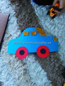 preschool cars crafts
