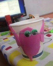 preschool paper cup ant crafts