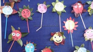 Flowers Bulletin Board ideas for preschool