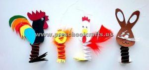 accordion animals craft ideas for kids