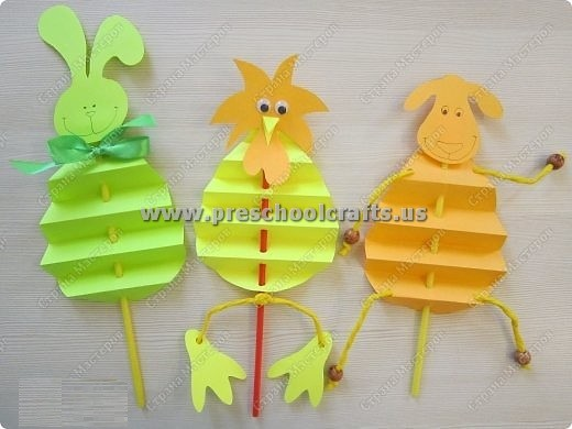 Accordion Animals Crafts For Kids Preschool And Kindergarten