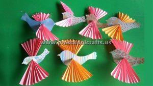 accordion bird craft ideas for kids