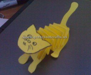 accordion cat crafts