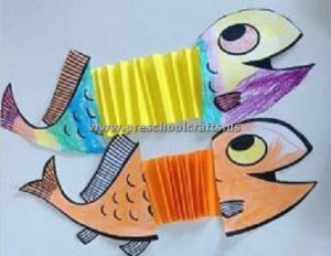 accordion fish craft ideas for kids