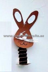 accordion rabbit crafts