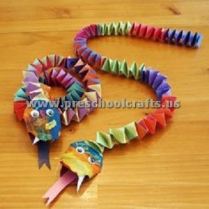 accordion snake craft ideas for kids